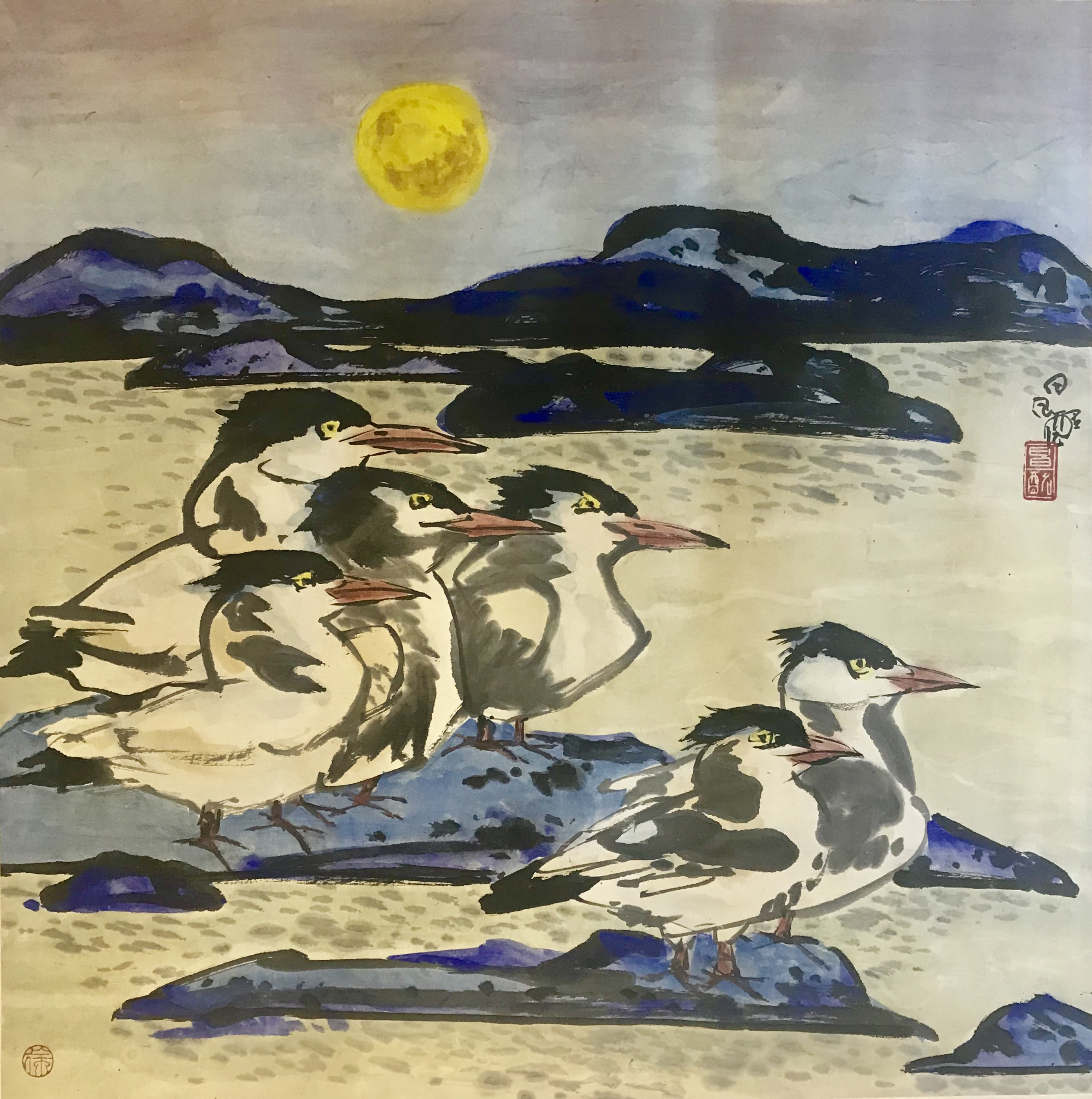 徐昌酩—《水鸟》