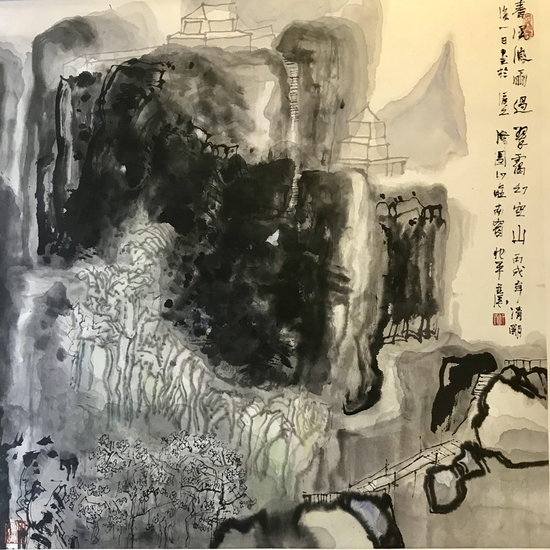 王兆平—《春风微雨过》