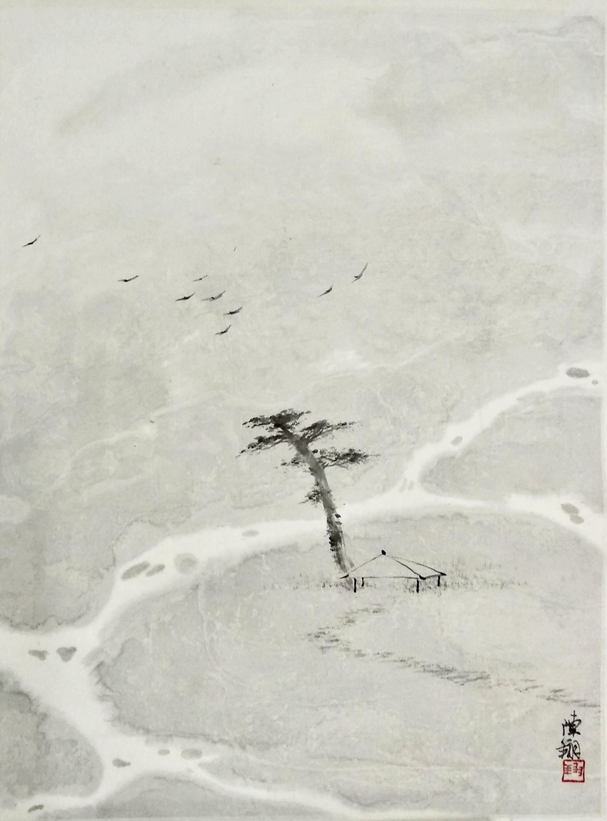 陈翔—《山水系列一》