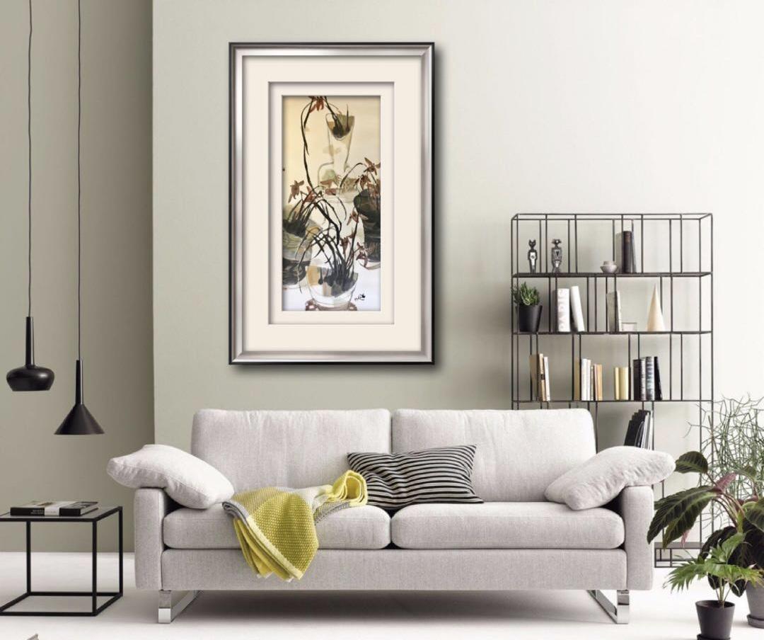 张渭人—《瓶花》