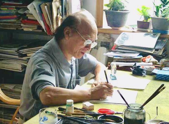 陈志明—上海香山书画院院长